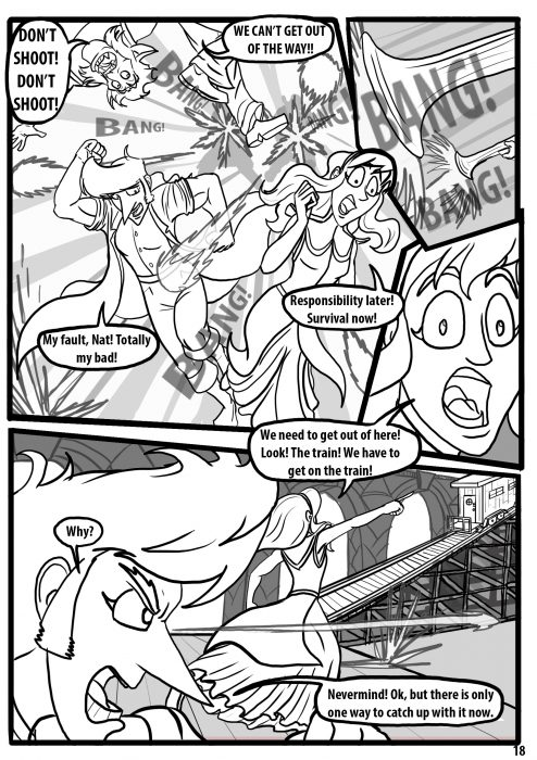 Comic pages Rareborn issue 1 p18