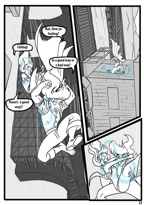 Comic pages Rareborn issue 1 p23
