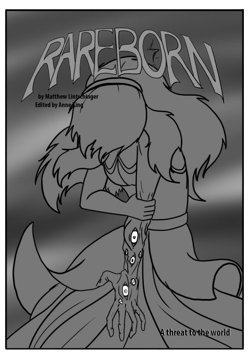 Comic pages Rareborn issue 3 p0